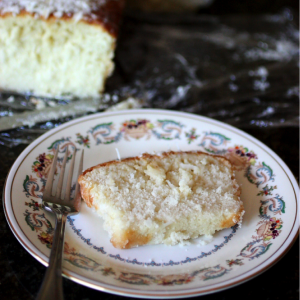 coconut loaf cake