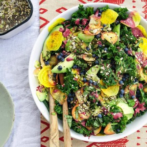 kale broccoli beet salad