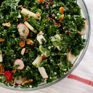 kale-salad-with-apple-goat-cheese-and-pecans