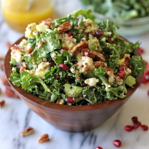 kale lemon salad